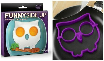 Fred & Friends Owl Funny Side Up Egg Corral Pancake Ring Mold Fun Kitchen Tool