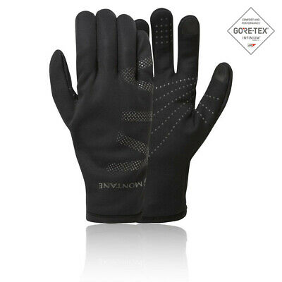 Montane Mens Via Groove Glove - Black Sports Running Outdoors Warm Windproof