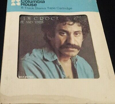 JIM CROCE  LIFE AND TIMES   8 TRACK Look And Fast Shipping Worldwide!!!!!!!