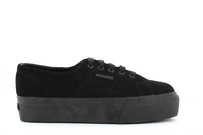 in vendita 647b3 06f92 SUPERGA SNEAKERS PLATFORM nero 2790-COTW OUTSOLE LETTERING ...