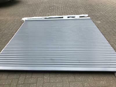 Roller Garage Door 9Ft X 8Ft  New With A Few Small Marks  Black  Electric