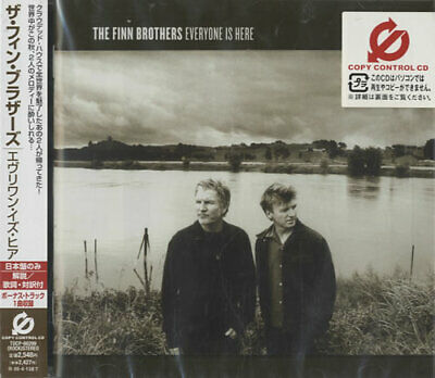Finn Brothers Everyone Is Here Japanese CD album (CDLP) promo TOCP-66299 EMI