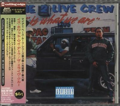 2 Live Crew CD album (CDLP) 2 Live Is What We Are - Sealed Japanese promo