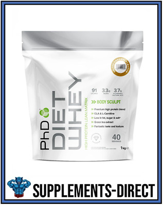 PhD Nutrition Diet Whey Protein 1Kg Lean Weight Loss Fat Loss