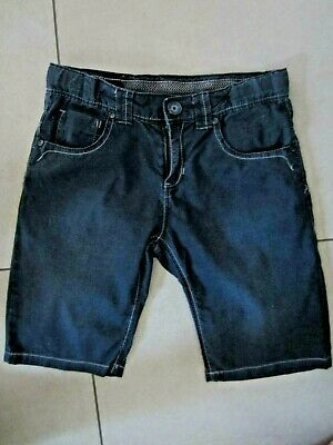 Boys CATAMINI DESIGNER DENIM Shorts blue ADJUST WAIST Age 10, 11 Years WORN ONCE