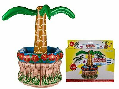 Beverage Drinks Beer Cooler Inflatable  Palm Tree - Fun Party Pool Detail