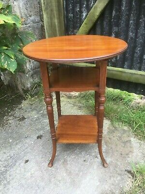 Fine Quality Late Victorian Aesthetic Movement Walnut Occasional Table