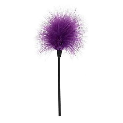 FEATHER TICKLER - PURPLE - Tickle Stick Duster UK SELLER FAST POST