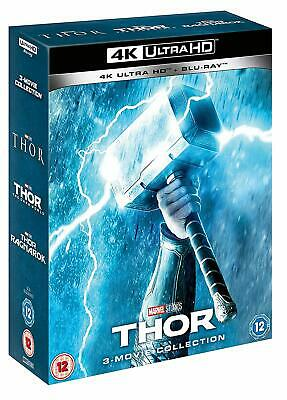 Thor Trilogy 3-Movie Collection (Blu-ray + 4K UHD) NEW!! Dark World Ragnarok