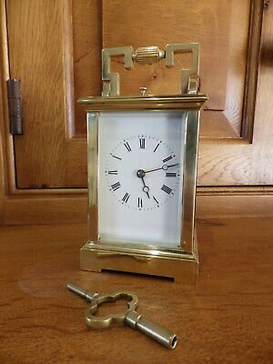 French Repeating Carriage Clock Fully Restored In Stunning Condition 1890s