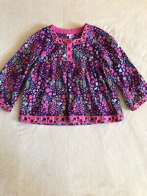 Butterfly By Matthew Williamson Designer Girls Tunic Age 5 Butterfly And Floral