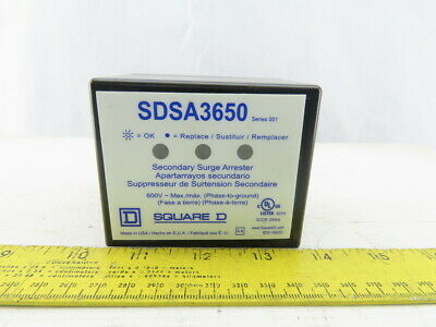 Square D SDSA3650 600V Phase To Ground Secondary Surge Arrester