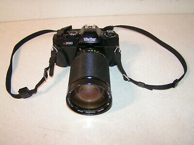 Vivitar V2000 SLR Film Camera with Vivitar 28-200mm Macro Zoom 3.5 to 5.3 lens