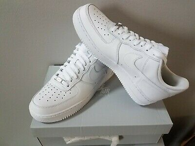 109d783c NEW MENS SZ 10 Nike Air Force One 1 Low Top (White)