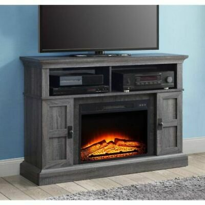 Media Fireplace Television Stand Fits Tv Up To 55 Electric Media