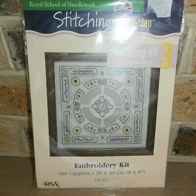Royal School of Needlework 'Finishing Off' Embroidery Kit Vegetable Garden hu d