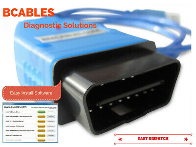 Bmw Dis V57 Sss V32 Tis  Gt1 Inpa Ediabas Dealer Diagnostic Cable With Software