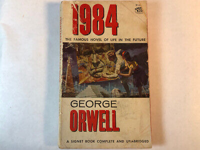 1984 by George Orwell (paper back, 1960 printing)