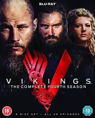 Vikings The Complete Fourth Season (UK IMPORT) DVD NEW