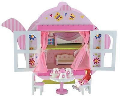 Girls Dolls Toys Bubbadoo Teapot Wooden Doll House Gift Item For Kids Toy New