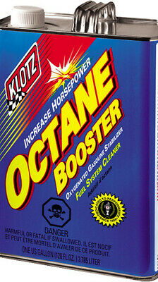 KLOTZ Octane Booster 1 Gallon Recommended for Gasoline or Ethanol Enriched Fuel