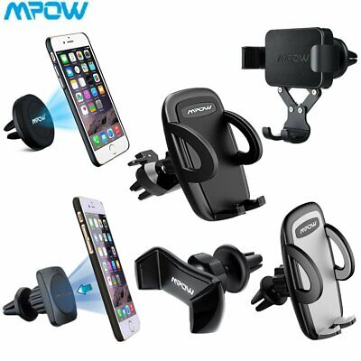 Mpow Universal 360° Rotating Car Mobile Phone Holder Air Vent Mount Cradle Stand