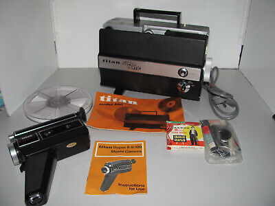 Titan Super Matic 850 8mm Silent Projector & Camera All In Original Box's In GWO