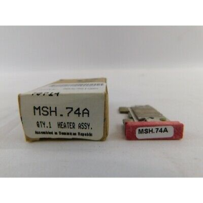 Eaton MSH.74A Heater Coil Pack 0.59-0.64A