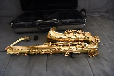 Yamaha Alto Saxophone YAS-475, Intermediate Model, USA Model, Adult Owned