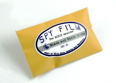 196199 *NEW* ISO 25 Orthochromatic Black & White Spy Film for Your Minox Camera!