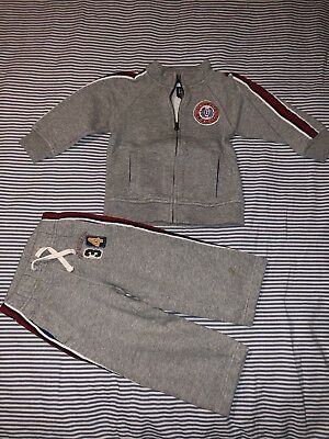 Baby Gap Boys Gray Sweatpants Sweatshirt Set Outfit 3 Years Pants SELLING TONS!!