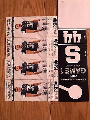4 Penn State Nittany Lions vs Idaho Vandals Football Tickets