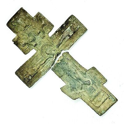 Medieval European Sacred Holy Relic Cross Russian Orthodox Christian 800-1500 AD