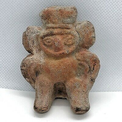 RARE Pre-Columbian Mayan Artifact Antiquity Pottery Central America Natives Idol