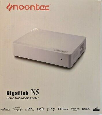 Noontec N5 Network Attached Storage Device + Seagate Barracuda 2TB HDD