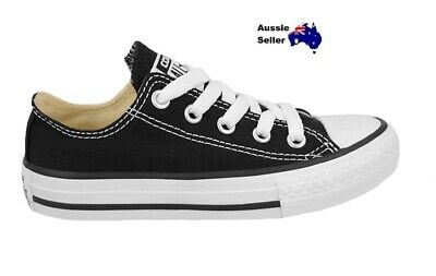 NEW! Converse Kids Youth Boys Girls Unisex All Star Chuck Taylor Lo Black 3J235C