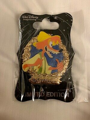 D23 Expo 2019 MOG Splash Mountain 30th Anniversary Brer Fox Pin LE 250 Disney