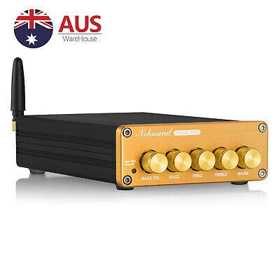 Bluetooth 5.0 HiFi Stereo Audio 2.1 Channel Subwoofer Power Amplifier Receiver