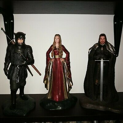 Lote de  Figuras de Juego de Tronos Game of Thrones de Dark Horse 25-30 cms