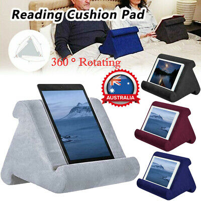 Tablet Pillow Stands PC Holder Rest Reading Cushion Pad For iPad iPhone Samsung