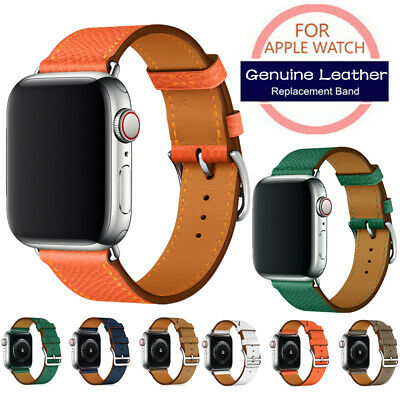 iWatch 38/40/42/44mm Leather Band Wristwatch Strap For Apple Watch Series4 3 2 1