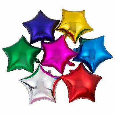 10 inch Star Foil Balloons Helium Balloon Party Birthday Wedding Decoration 10X