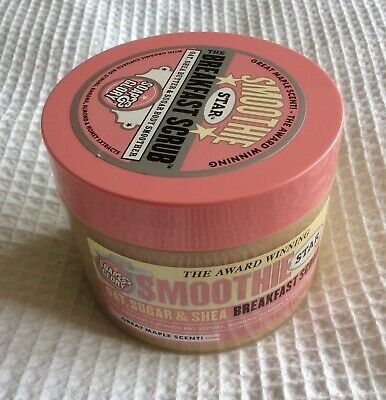 Soap And Glory Smoothie Star-  Breakfast Scrub Oat, Shea Butter 300ml - Bargain!