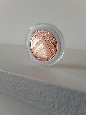 2018 1p Coin One Pence Shield Royal Mint Penny Brilliant Uncirculated BUNC