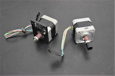 Lot of 2 Oriental Vexta Stepping Motors PK244-04BA-C1 2-Phase 24VDC Warranty