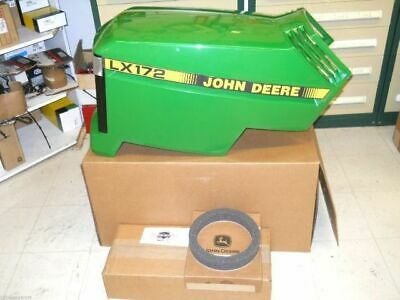 John Deere LX173 New Complete Hood Assembly AM132526 AM117723 M110378 M116097