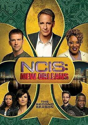 NCIS NEW ORLEANS: SEASON 2 DVD - THE COMPLETE SECOND SEASON [6 DISCS] New
