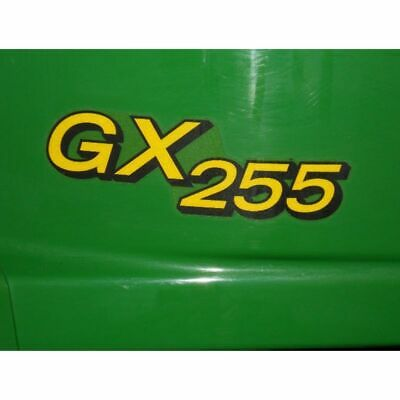 John Deere Hood Decal Set - M149592 - GX255