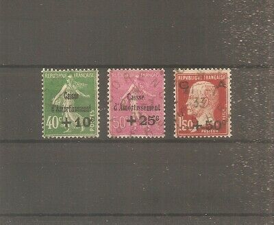 Timbre France Frankreich Ca 1929 N°253/255 Oblitere Used