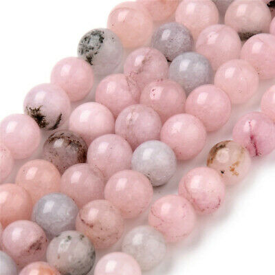 6mm/8mm/10mm DIY Natural Cherry Stone Round Beads Jewelry Making 38cm /string